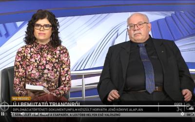 Interjú az M1 Ma reggel című műsorában